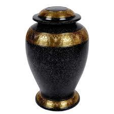 Durable Patina Brass Urn in  Delhi Road