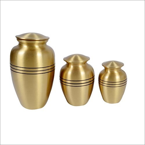 Durable Ribs Brass Urns in  Delhi Road