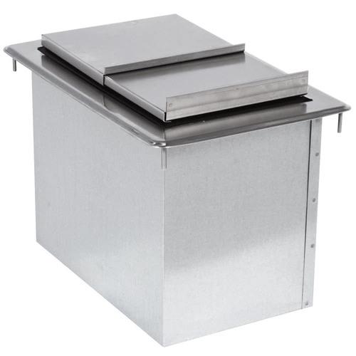 Stainless Steel Ice Bin