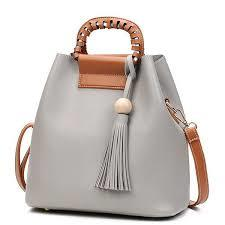 Ladies Leather Tote Bag in  New Area