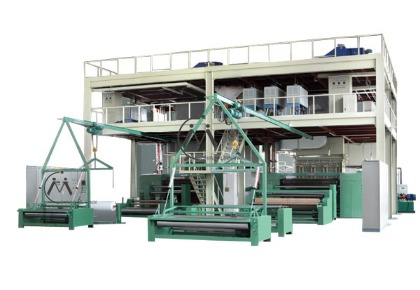 FH-1600 Single Beam PP Spunbond Fabric Production Line in   Ruian