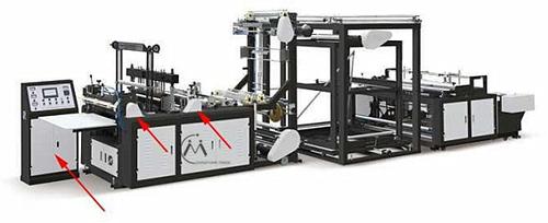 High Speed Non Woven T-Shirt Bag Making Machine in   Ruian