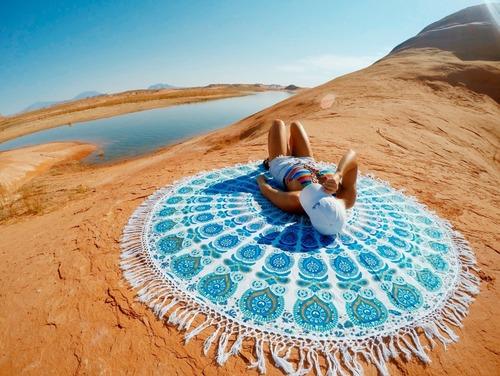 Fancy Cotton Mandala Tapestry in  Jawahar Nagar