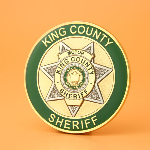 King County Sheriff Challenge Coins