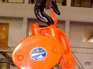 Es Chain Pulley Block in  Connaught Place