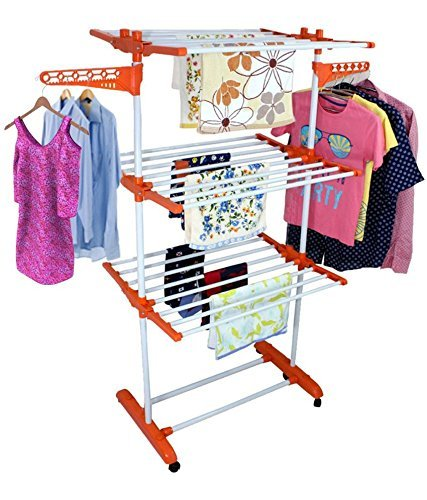 Ezzideals 3 Layer Clothes Dryer Stand in  New Area