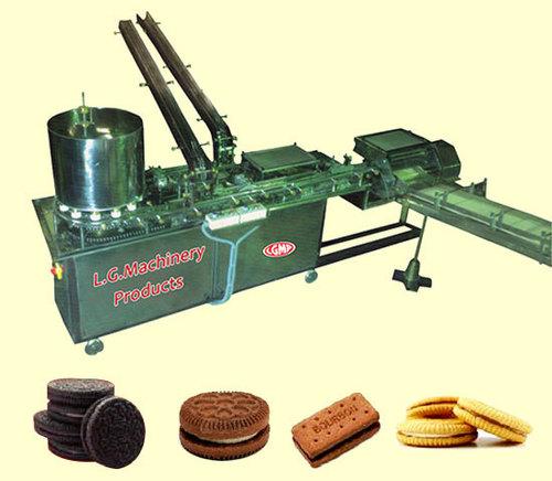 Cream Biscuit Sandwiching Machine in  Waliv-Vasai (E)