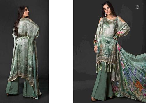 Ladies Embroidered Suit in   Saroli Road