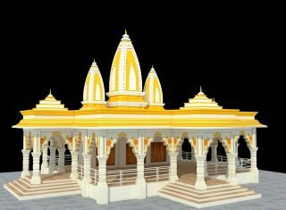 Economical Temple Construction Services in  Nanded