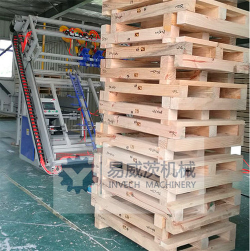 Wooden Pallets Making Machines in Middle Hanghai Road