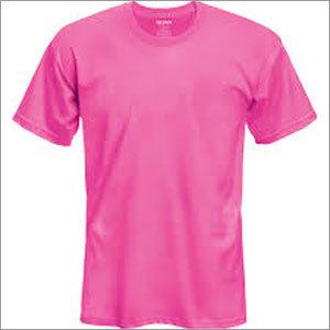 Plain Round Neck T Shirt in  Ashok Nagar