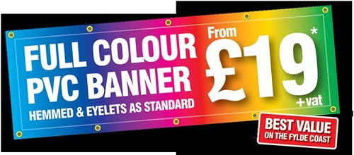 Full Color Pvc Banner Printing Services