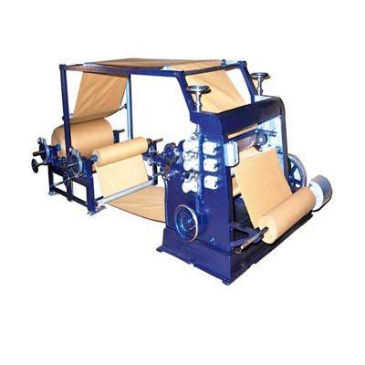 Vertical Type Bush Mounted Single Facer Paper Corrugating Machine