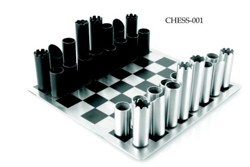 Steel Chess Set stainless steel chess sets in wazirpur indl. area, delhi