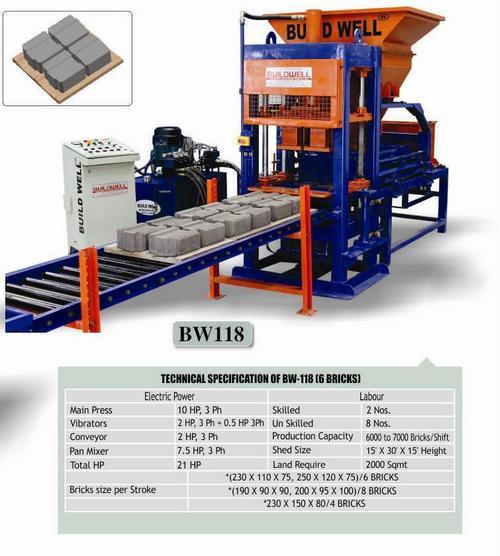 Interlock Bricks Making Machine