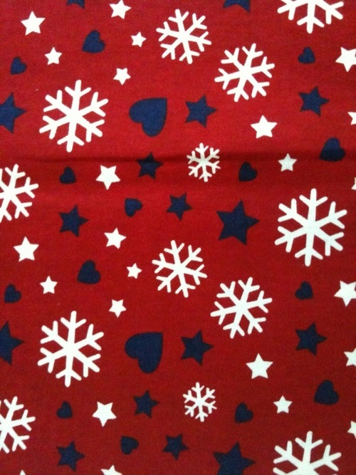 Printed Flannel Fabric in  B-Sector (Sanwer)