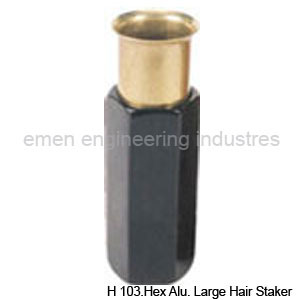 Hex Aluminum Large Hair Stak in  New Area