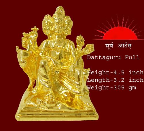 Dattaguru Gold Statue