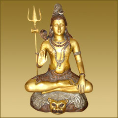 Shiva Sitting Statue