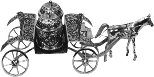 Silver Horse Cart