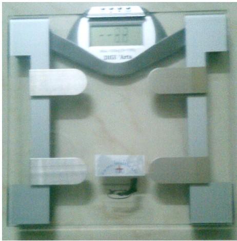 Digital Body Fat/Water/Weight Scale