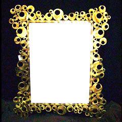 brass mirror frame