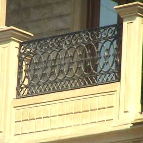 Balcony grills in varachha surat patel fabrication for Balcony full grill design