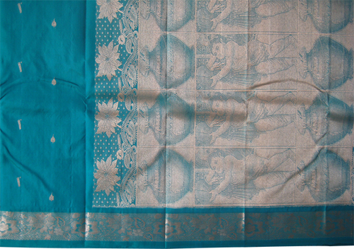 Woven Silk Saree in  New Area