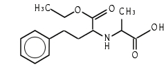 N2-[(1s)-Ethoxycarbonyl-3-Phenylpropyl]-L- Alanine