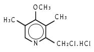 2-Chloromethyl-3,5-Dimethyl-4-Methoxy Pyridine Hydrochloride