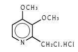 2-Chloromethyl-3,4-Dimethoxy Pyridine Hydrochloride