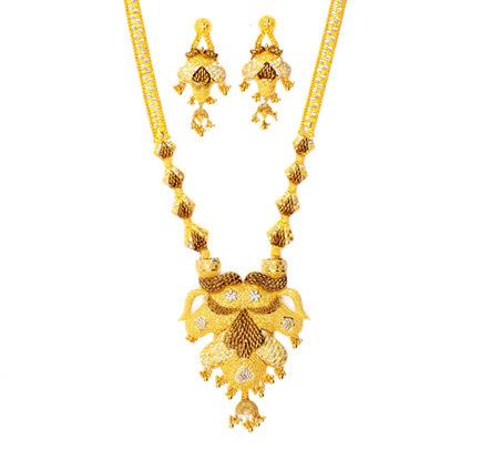LADIES GOLD NECKLACE SET in East Fort, Thiruvananthapuram ...