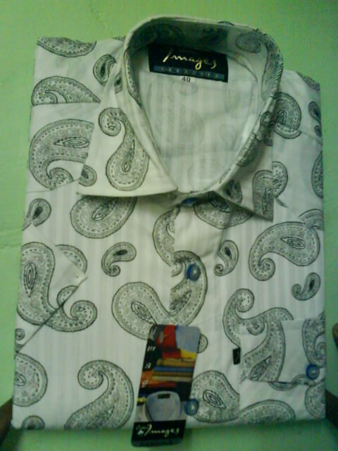 Cotton Shirt in   P.N. Road