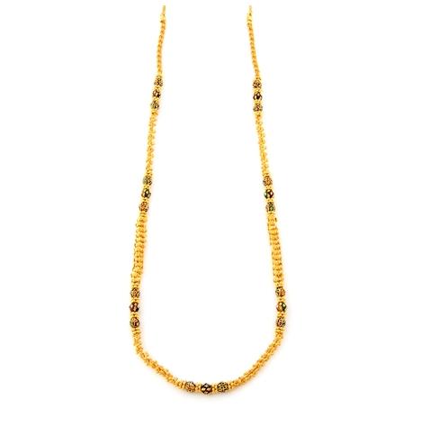 DESIGNER LONG GOLD CHAIN in   Swarnapuri