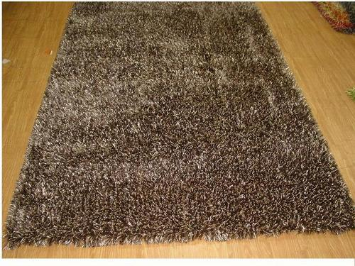 Polyester Shaggy Rug Home Decor