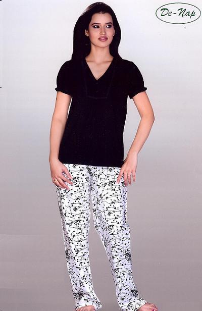 Printed Ladies Night Wear Top - Printed Ladies Night Wear Top ...
