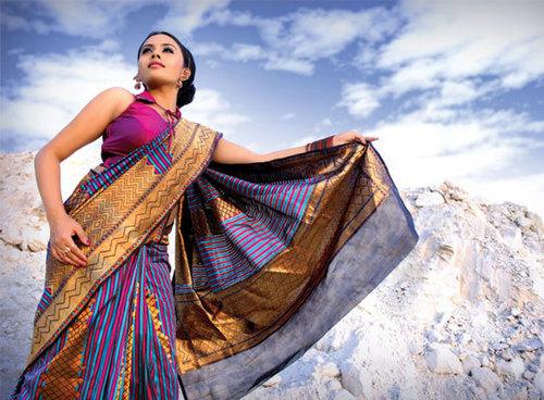 Designer Silk Sarees in   Kuriachira