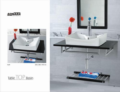 Table top wash basin swift in dist morbi morbi sonara for Modern wash basin india