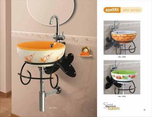 Designer bowl wash basin in morbi gujarat sonara for Latest wash basin designs india