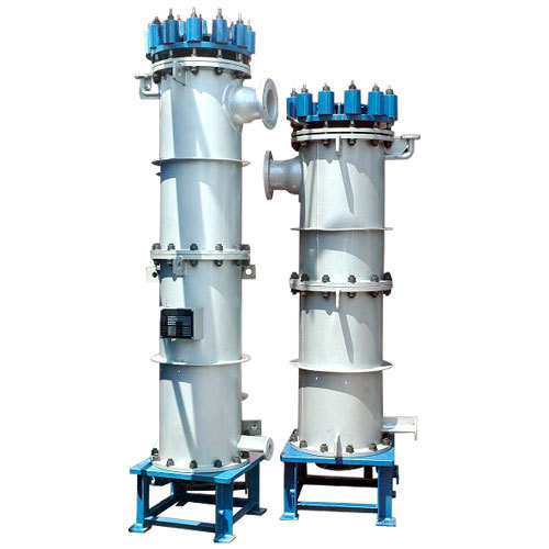 Graphite Block, Cylindrical Block Type Heat Exchanger ...