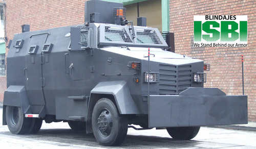 Car Buying App >> Riot Control Armored Police Truck Vehicle in Carrera 26 ...