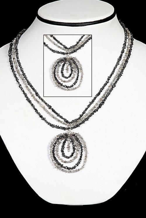 Diamond Necklace Beads