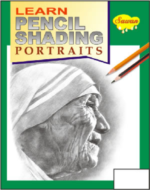 LEARN PENCIL SHADING PORTRAIT BOOK in  Burari Indl. Area
