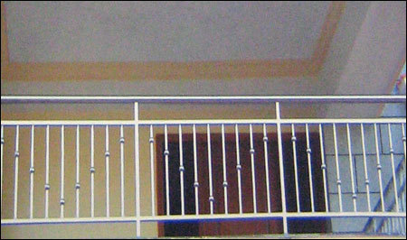 Stainless steel balcony grills in mannurpet chennai for Balcony steel grill design