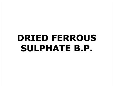 Dried Ferrous Sulphate Bp