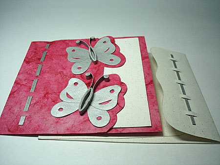 Wedding Gift For Elder Sister : Butterfly Handmade Greeting Card in Shahpurjat Comml. Complex, New ...