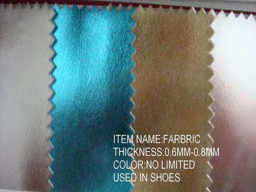 Synthetic Shoes Leather in   Longwan District