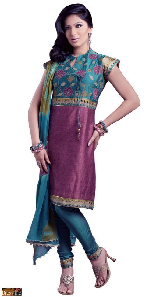 Angharkha Style Ladies Suits in  Whs (Kirti Nagar)