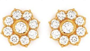 7 Stone Diamond Earrings Designs Beautify Themselves With