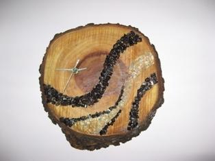 Hand Made Wooden Clock